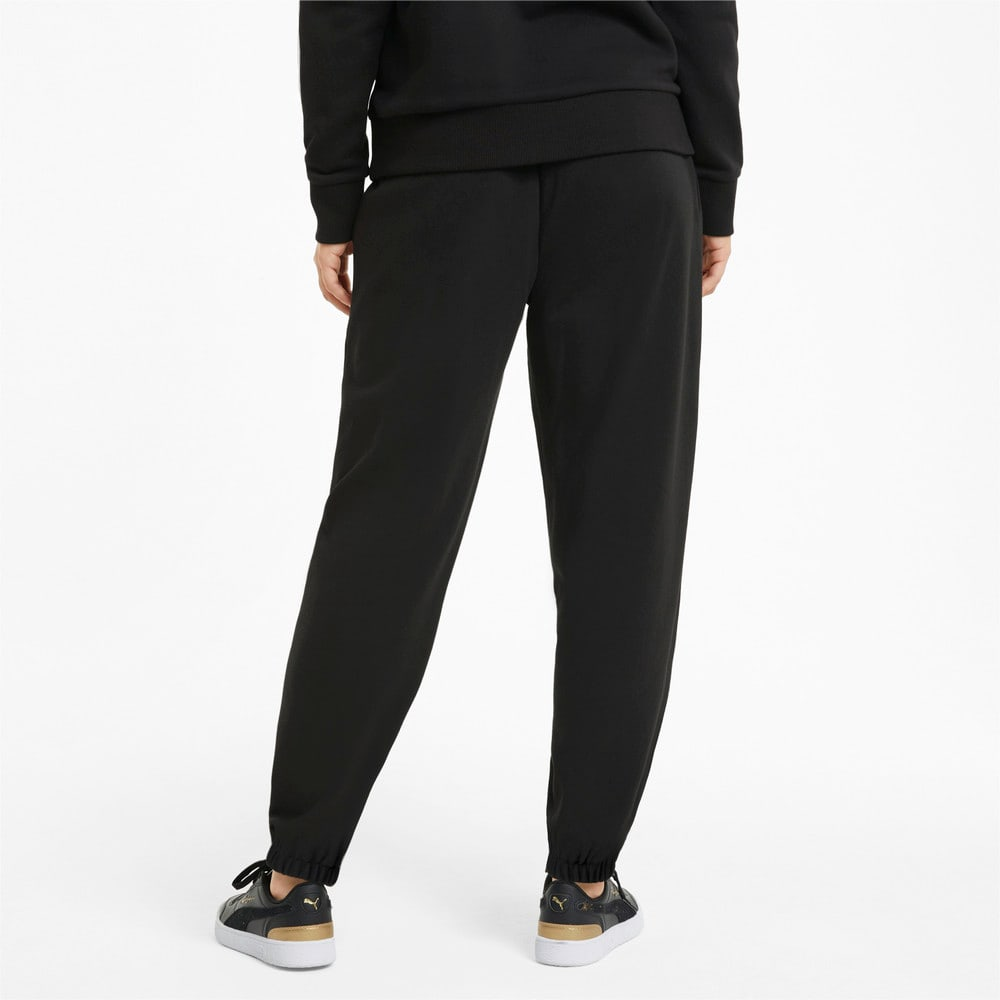 Зображення Puma Штани Classics Relaxed Women's Sweatpants #2: Puma Black