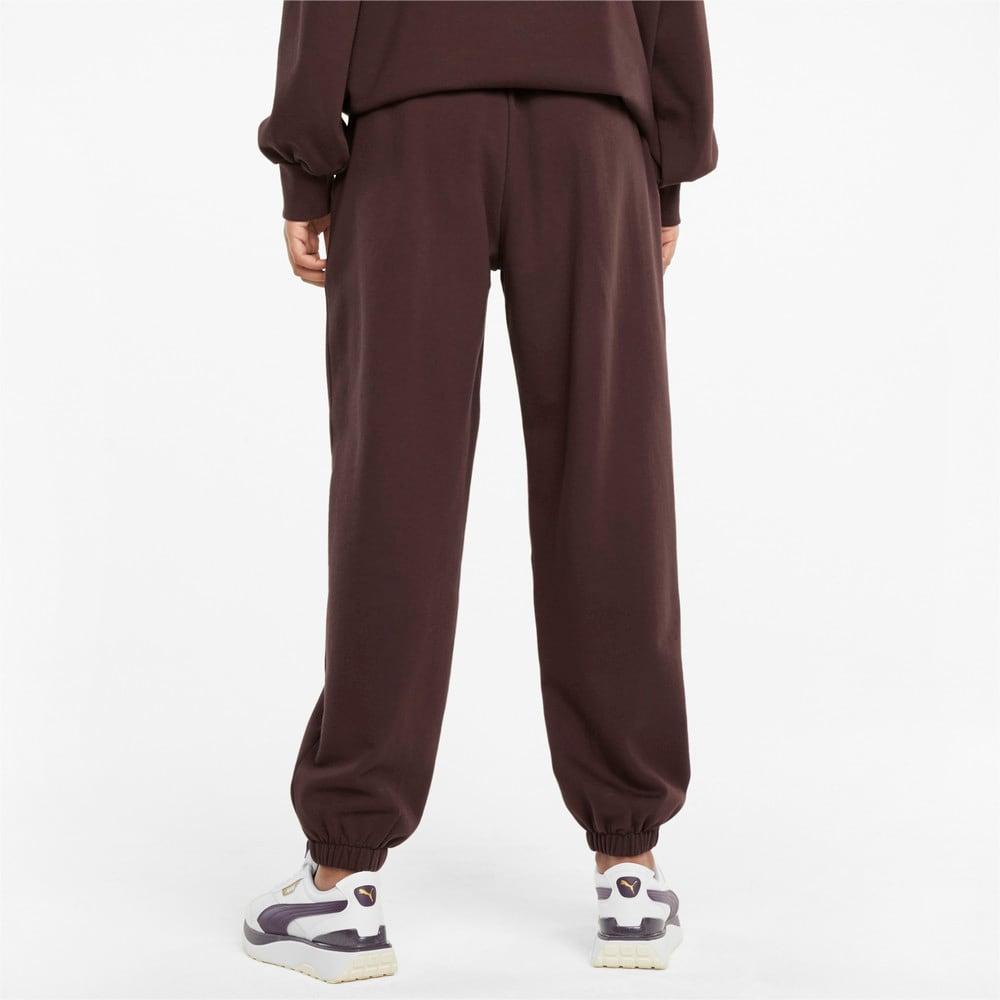 Изображение Puma Штаны Classics Relaxed Women's Sweatpants #1: Fudge