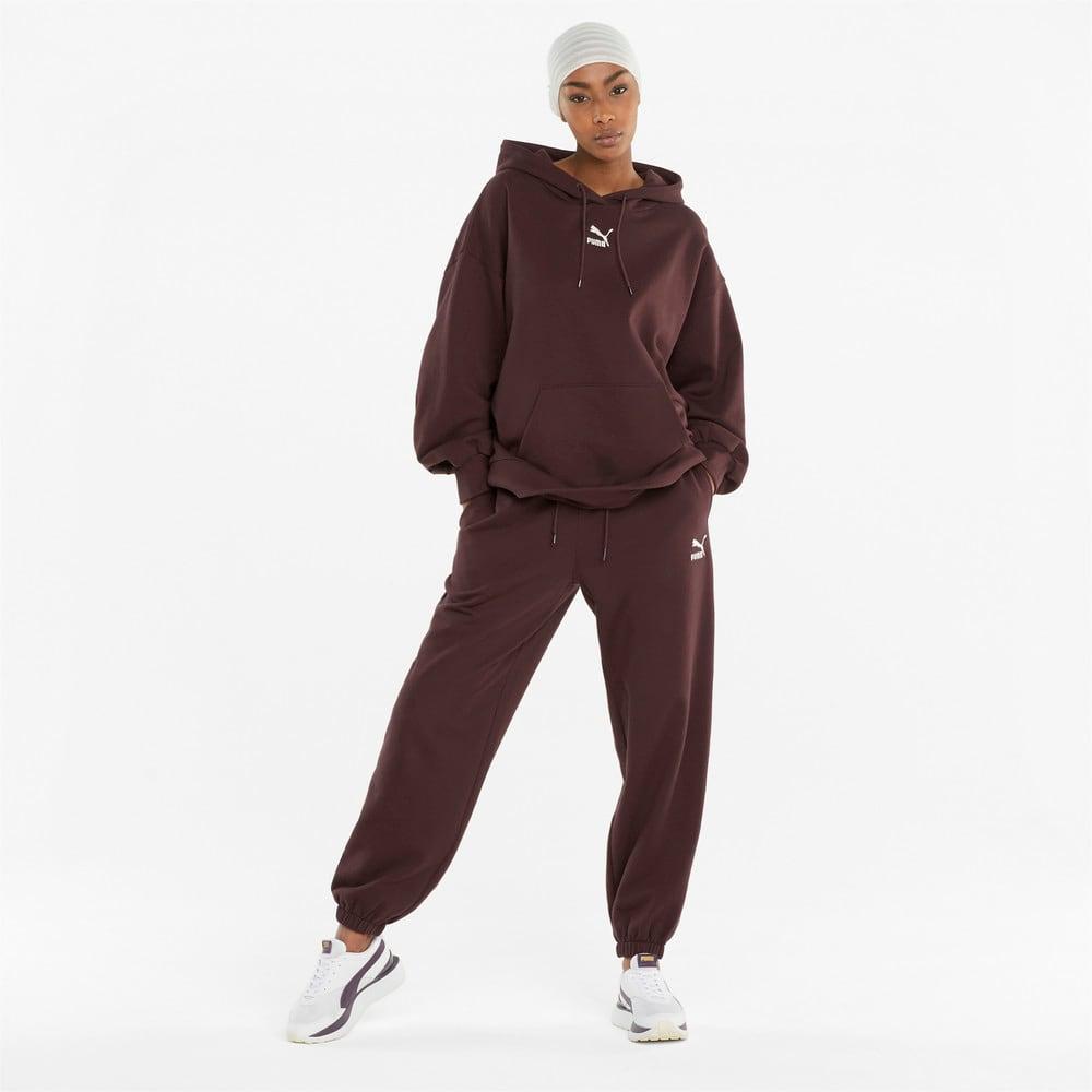 Изображение Puma Штаны Classics Relaxed Women's Sweatpants #2: Fudge