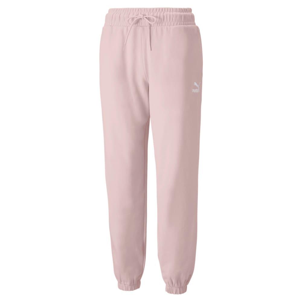 Изображение Puma Штаны Classics Relaxed Women's Sweatpants #1: Lotus