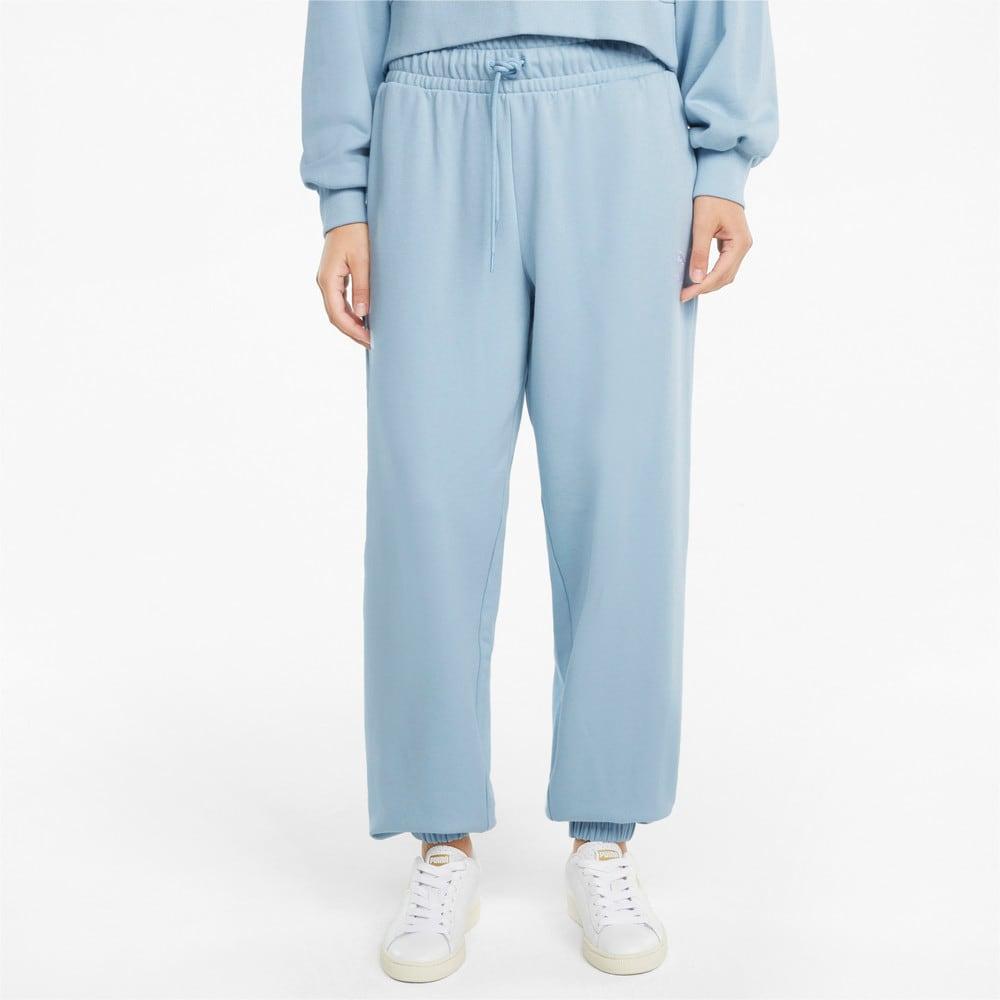 Изображение Puma Штаны Classics Relaxed Women's Sweatpants #1: Blue Fog
