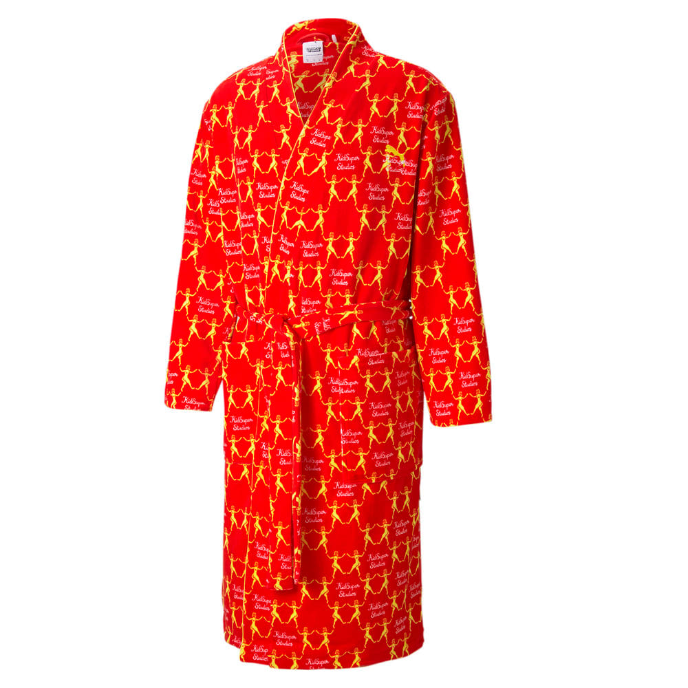 Изображение Puma Халат PUMA x KidSuper Printed Men's Bathrobe #1