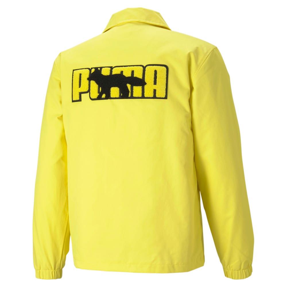 Изображение Puma Куртка PUMA x MAISON KITSUNÉ Coach Jacket #2: Lemon Chrome