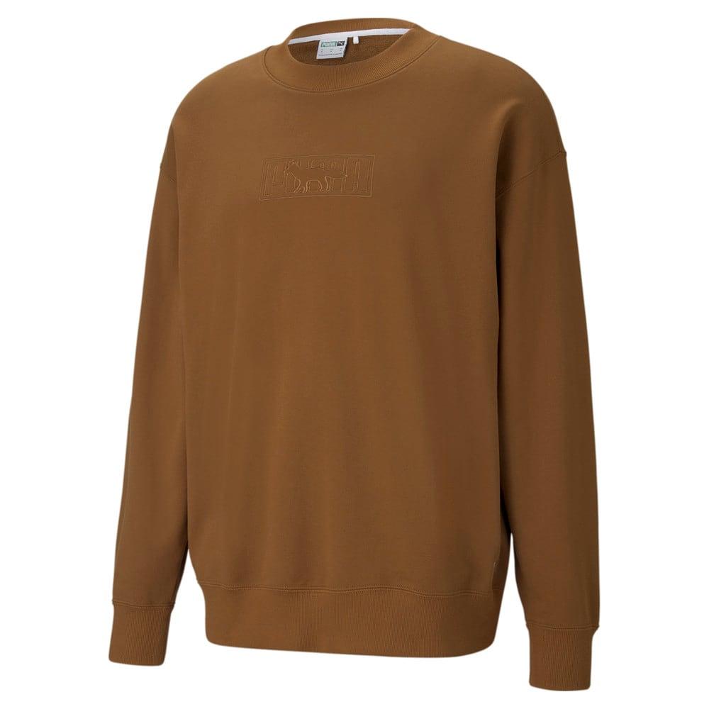 Зображення Puma Толстовка PUMA x MAISON KITSUNÉ Crew Neck Sweatshirt #2: Monk's Robe