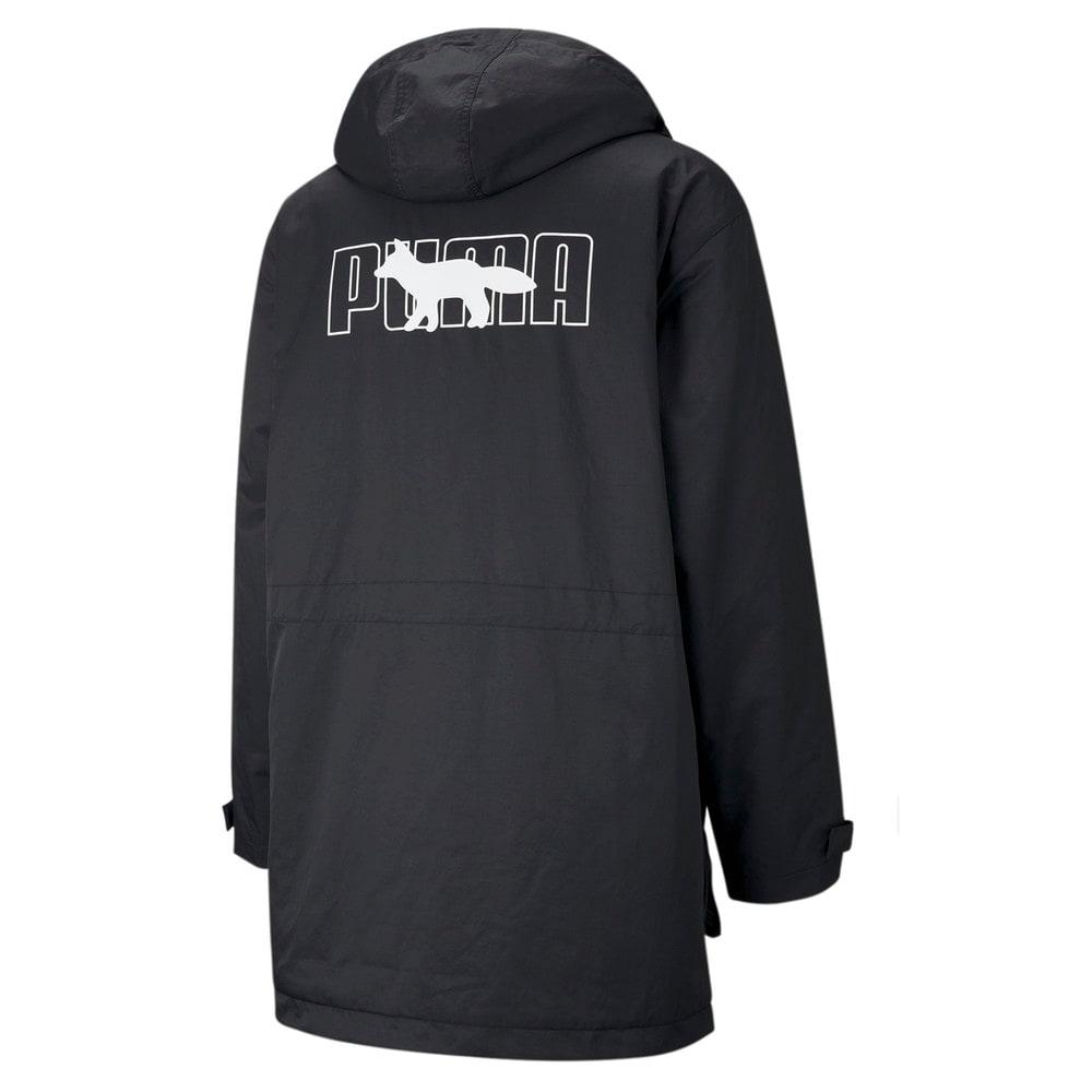 Изображение Puma Куртка PUMA x MAISON KITSUNÉ Men's Military Jacket #2: Puma Black
