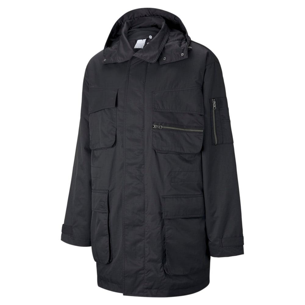 Изображение Puma Куртка PUMA x MAISON KITSUNÉ Men's Military Jacket #1: Puma Black