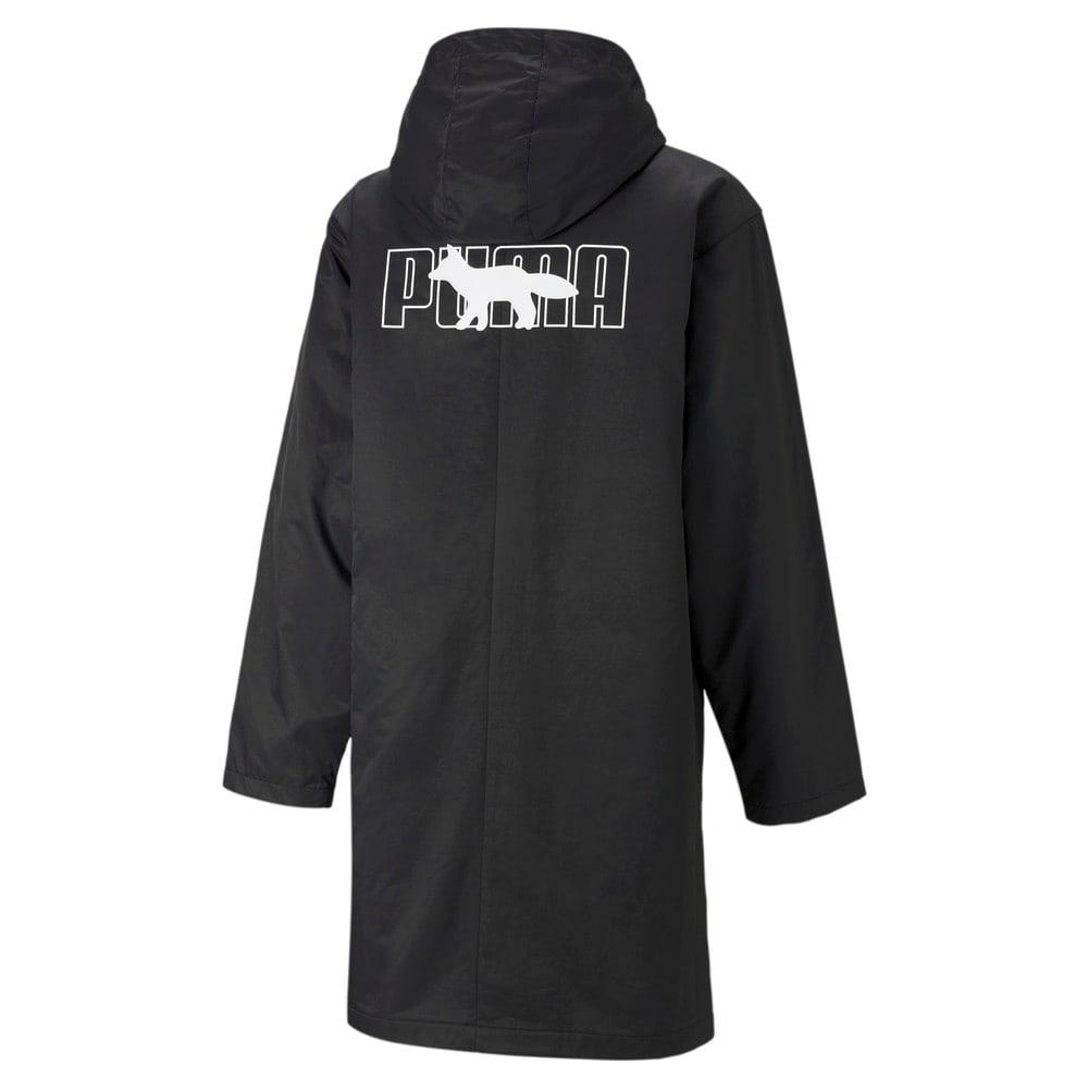 Изображение Puma Куртка PUMA x MAISON KITSUNÉ Hooded Long Jacket #2: Puma Black