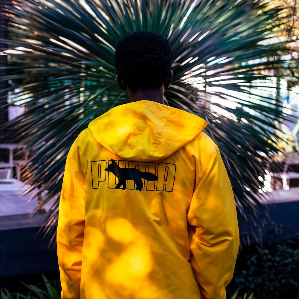 Изображение Puma Куртка PUMA x MAISON KITSUNÉ Hooded Long Jacket #1: Lemon Chrome