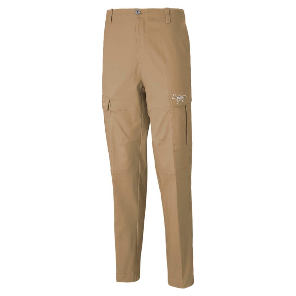 Изображение Puma Штаны PUMA x MAISON KITSUNÉ Men's Cargo Pants #1