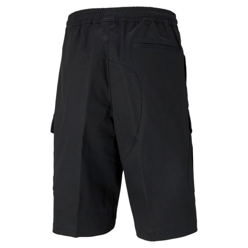 Зображення Puma Шорти PUMA x MAISON KITSUNÉ Men's Cargo Shorts #2: puma black-AOP