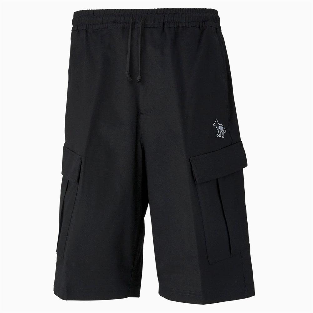 Изображение Puma Шорты PUMA x MAISON KITSUNÉ Men's Cargo Shorts #1