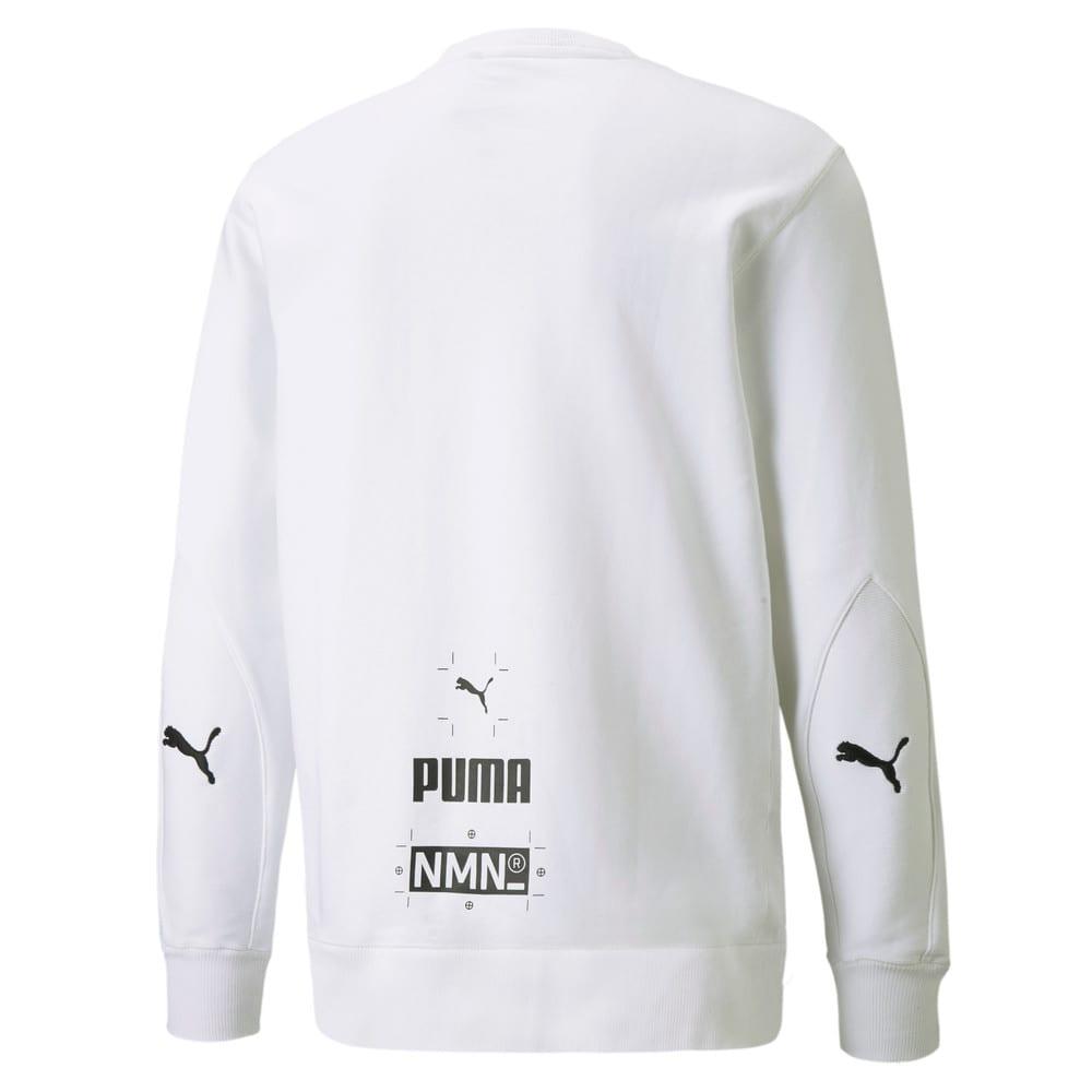 Изображение Puma Толстовка PUMA x NMN Crew Neck Men's Sweatshirt #2: Puma White