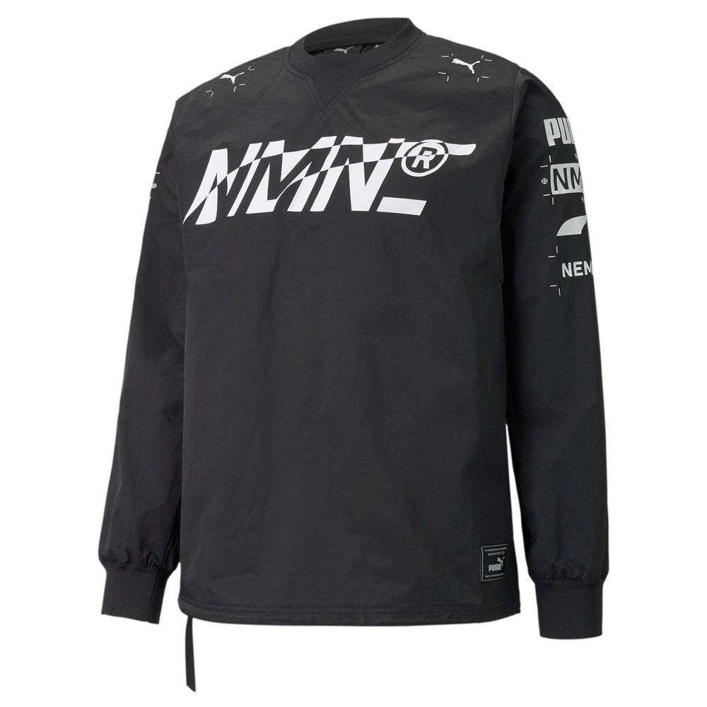 Изображение Puma Толстовка PUMA x NEMEN Tech Crew Neck Men's Sweatshirt #1: Puma Black
