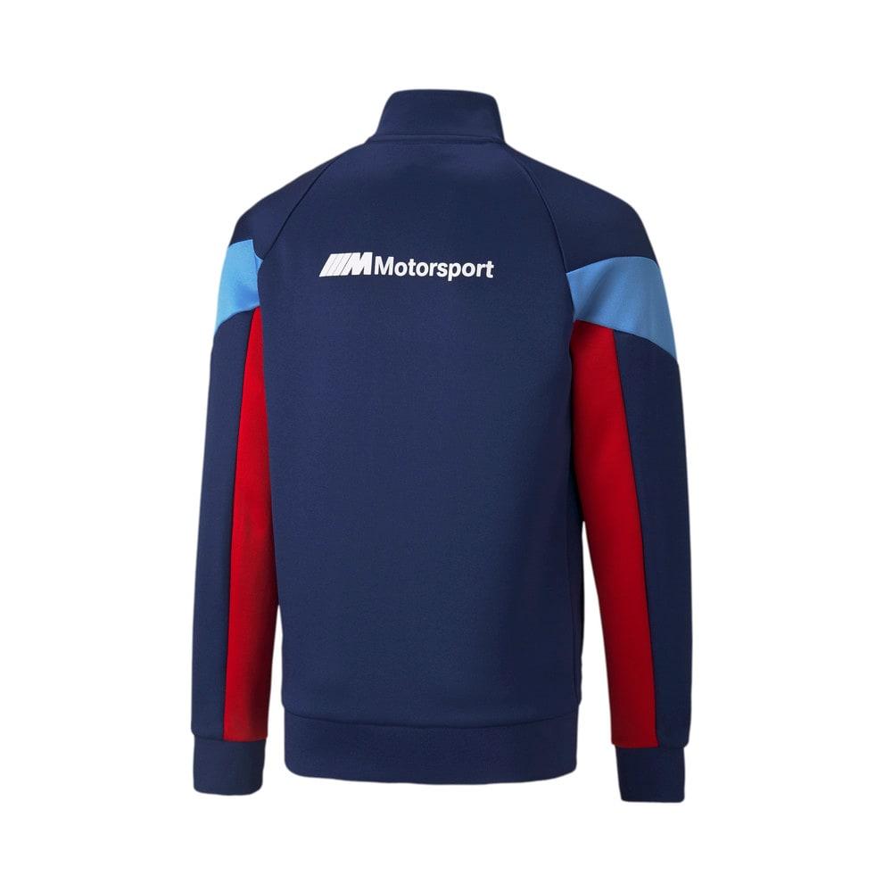 Изображение Puma Детская олимпийка BMW M Motorsport MCS Youth Track Jacket #2