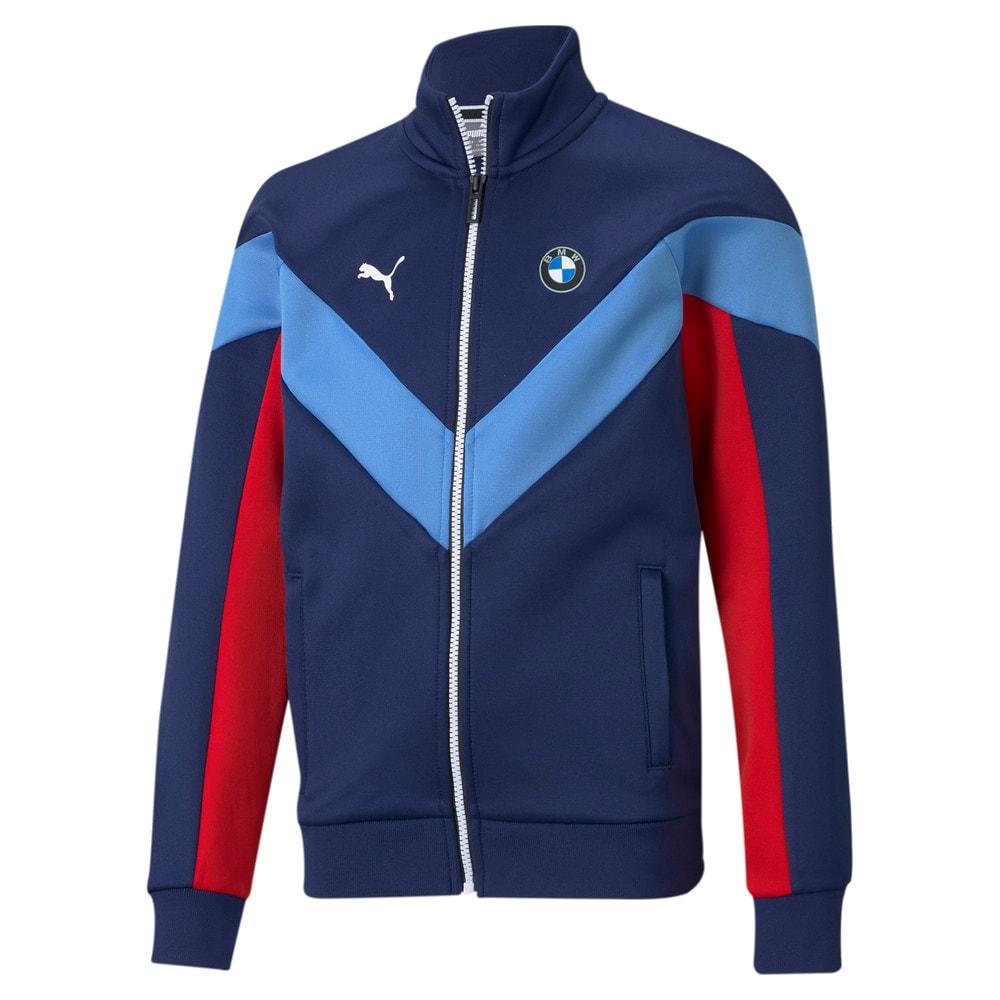 Изображение Puma Детская олимпийка BMW M Motorsport MCS Youth Track Jacket #1