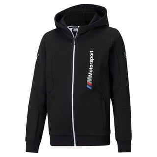 Изображение Puma Детская толстовка BMW M Motorsport Youth Sweat Jacket