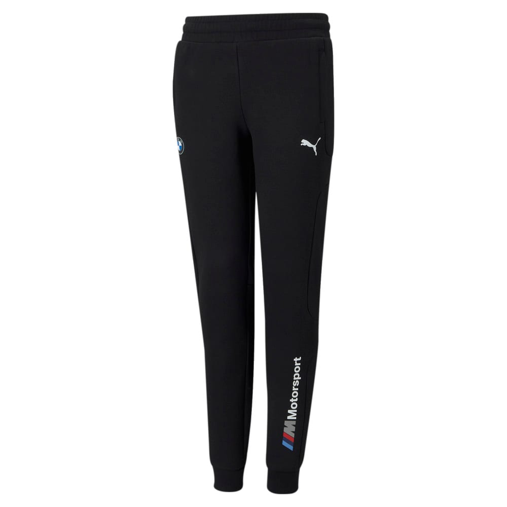 Изображение Puma Детские штаны BMW M Motorsport Youth Sweatpants #1