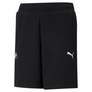 Изображение Puma Детские шорты BMW M Motorsport Printed Youth Sweat Shorts