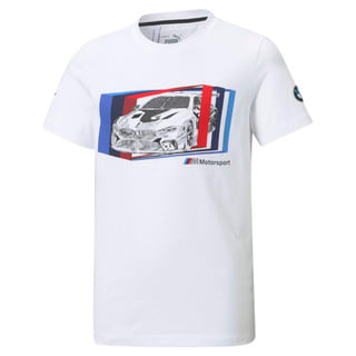 Изображение Puma Детская футболка BMW M Motorsport Car Graphic Youth Tee