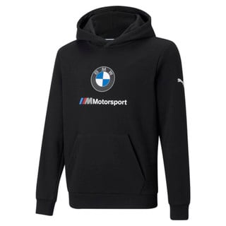 Изображение Puma Детская толстовка BMW M Motorsport Essentials Youth Hoodie
