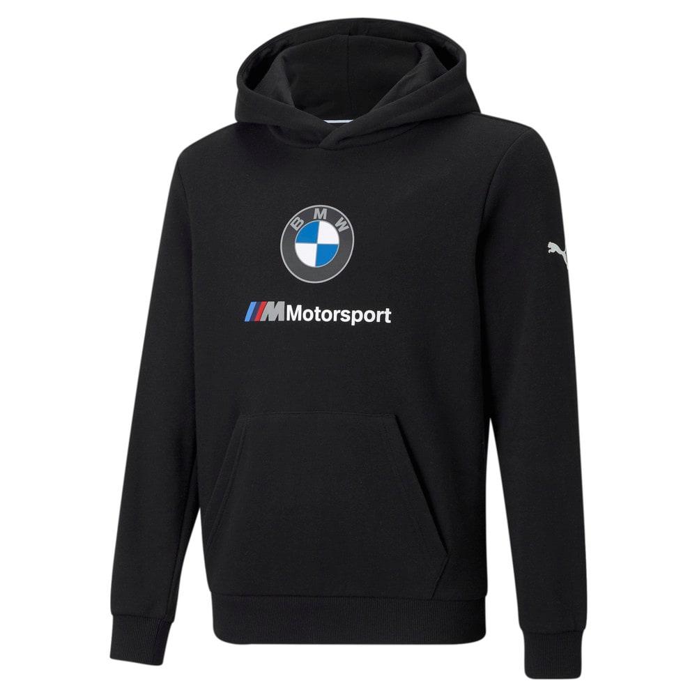 Image Puma BMW M Motorsport Essentials Youth Hoodie #1