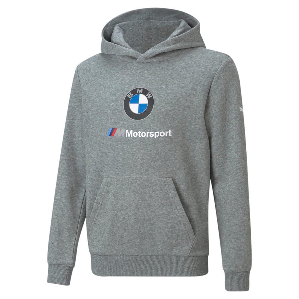 Изображение Puma Детская толстовка BMW M Motorsport Essentials Youth Hoodie #1