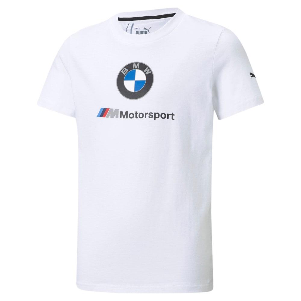 Изображение Puma Детская футболка BMW M Motorsport Essentials Youth Tee #1