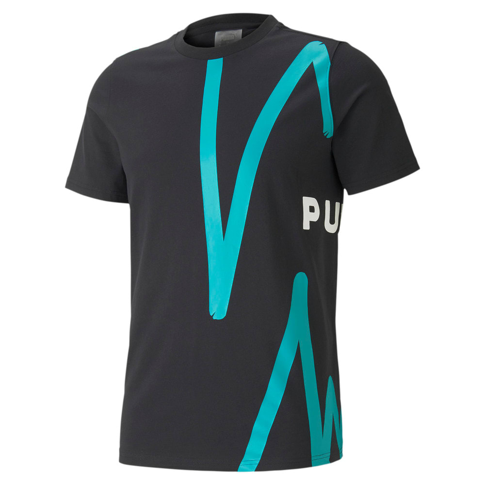 Зображення Puma Футболка Franchise Graphic Men's Basketball Tee #1