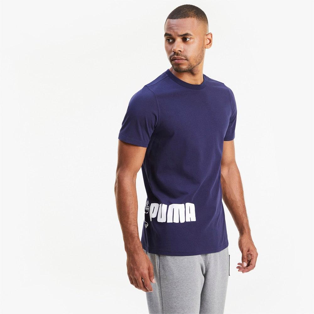 Изображение Puma Футболка Franchise Graphic Men's Basketball Tee #1