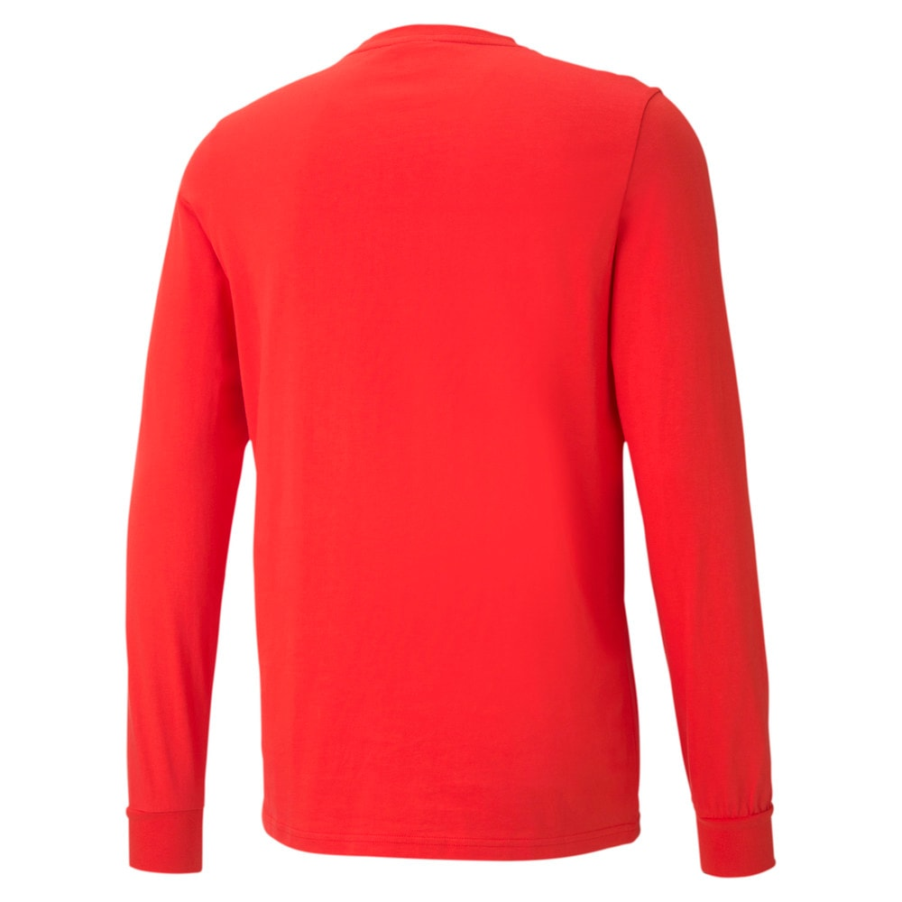 Görüntü Puma FRANCHISE Street Uzun Kollu Erkek Basketbol T-shirt #2