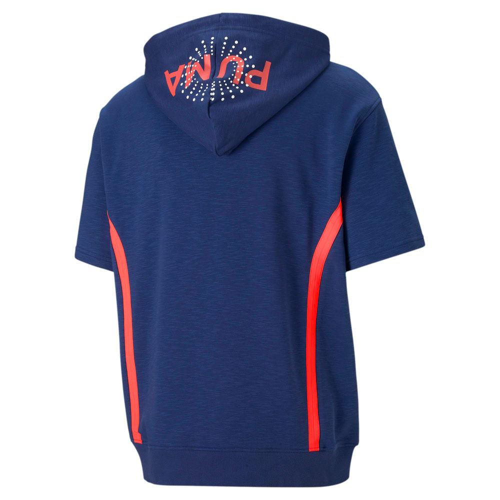 Görüntü Puma FRANCHISE Kısa Kollu Erkek Basketbol Kapüşonlu Sweatshirt #2