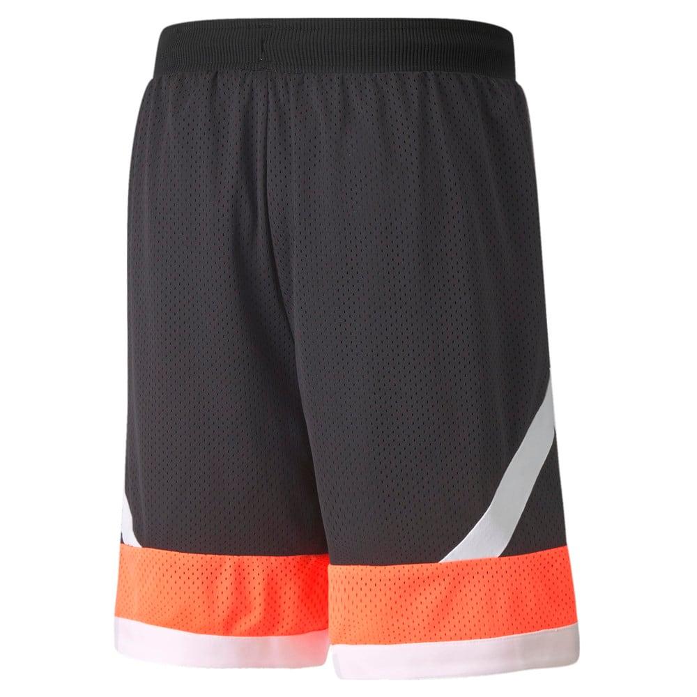 Изображение Puma Шорты Jaws Mesh Men's Basketball Shorts #2: Puma Black