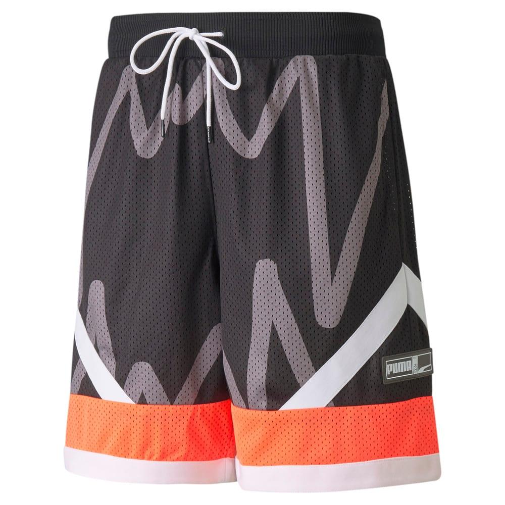 Изображение Puma Шорты Jaws Mesh Men's Basketball Shorts #1: Puma Black