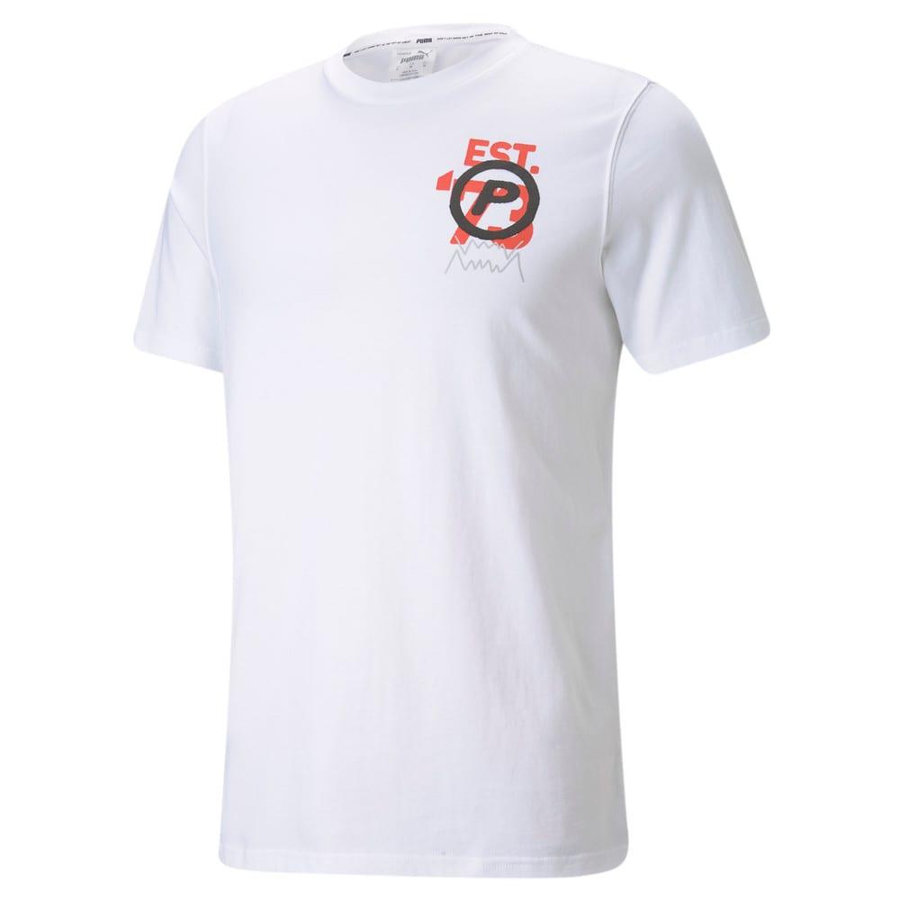 Görüntü Puma FRANCHISE Kısa Kollu Erkek Basketbol T-shirt #1
