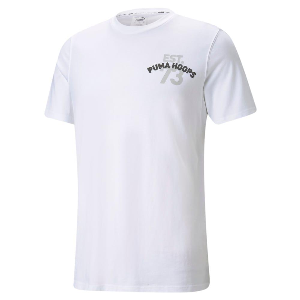 Image Puma Franchise Short Sleeve Men's Basketball Tee #1