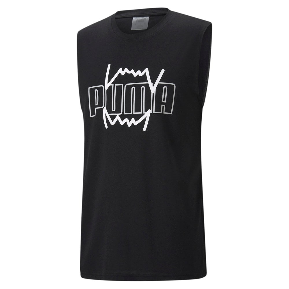 Image Puma Triple Double Men's Basketball Tank Top #1