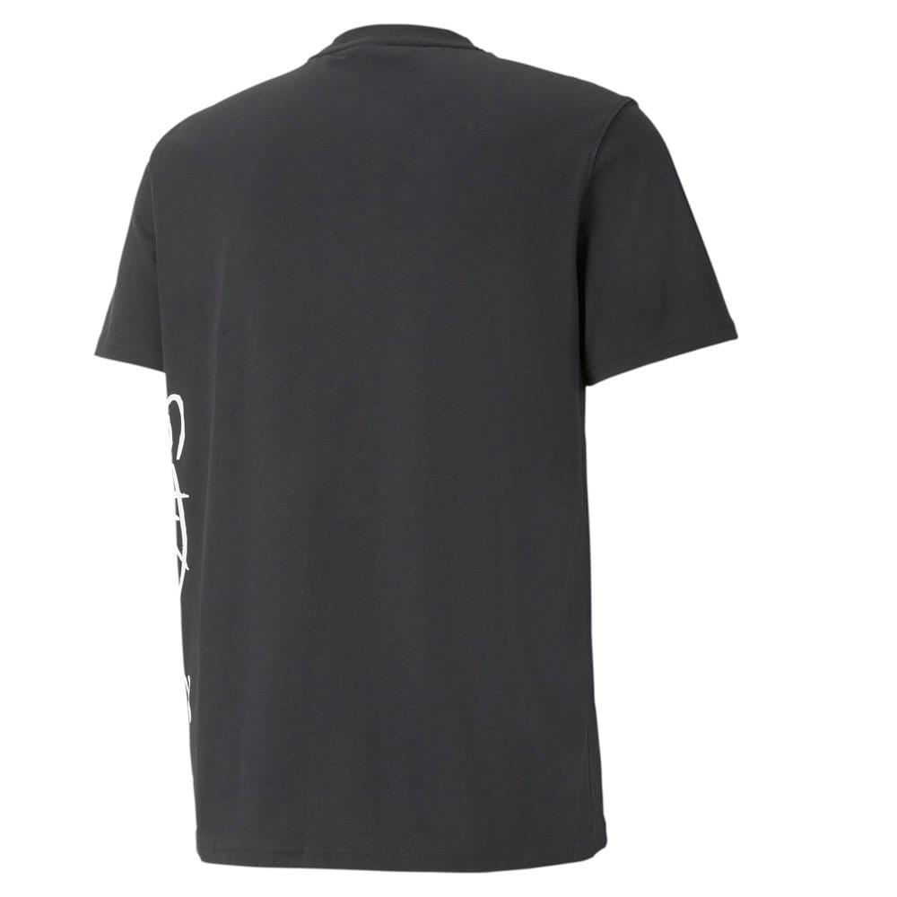 Görüntü Puma Cat Basketbol Jaws Erkek T-shirt #2