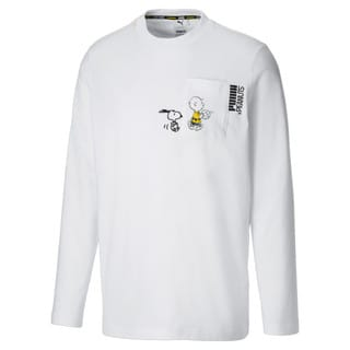 Зображення Puma Футболка з довгим рукавом PUMA x PEANUTS Long Sleeve Men's Tee
