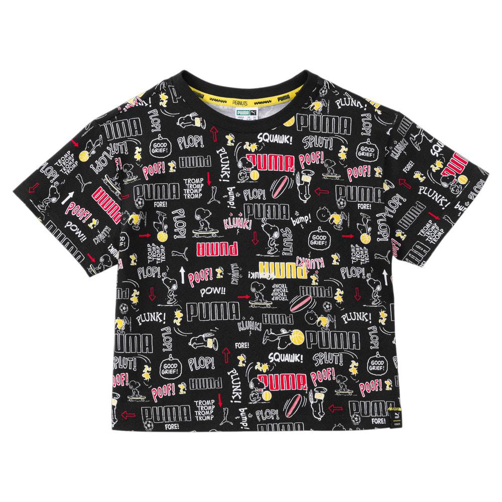 Изображение Puma Детская футболка PUMA X PEANUTS Printed Kids' Tee #1