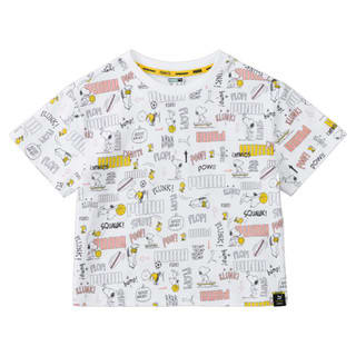 Изображение Puma Детская футболка PUMA X PEANUTS Printed Kids' Tee