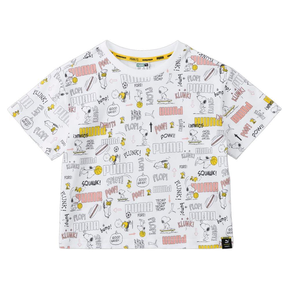 Görüntü Puma PUMA x PEANUTS PRINTED Çocuk T-shirt #1
