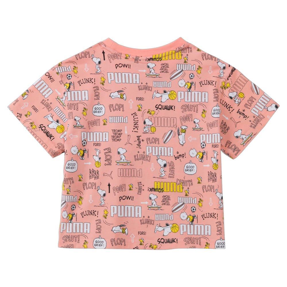 Изображение Puma Детская футболка PUMA X PEANUTS Printed Kids' Tee #2