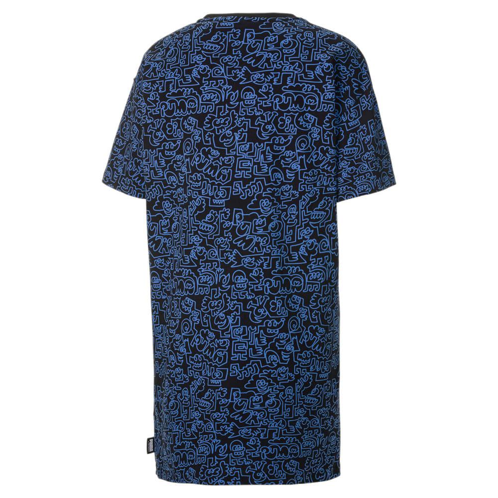 Изображение Puma Платье PUMA x MR DOODLE Women's Printed Tee Dress #2