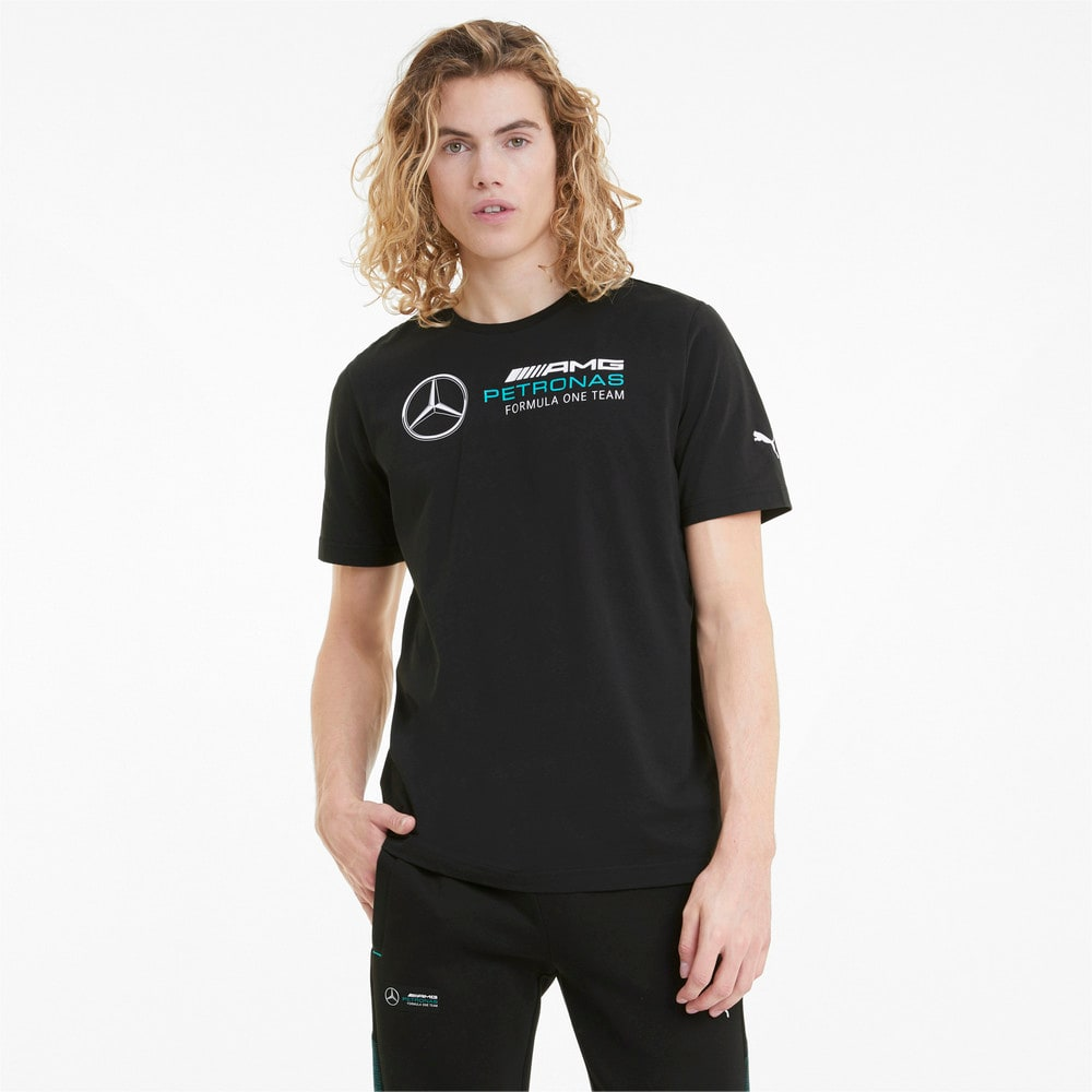 Зображення Puma Футболка Mercedes F1 Logo Men's Tee #1