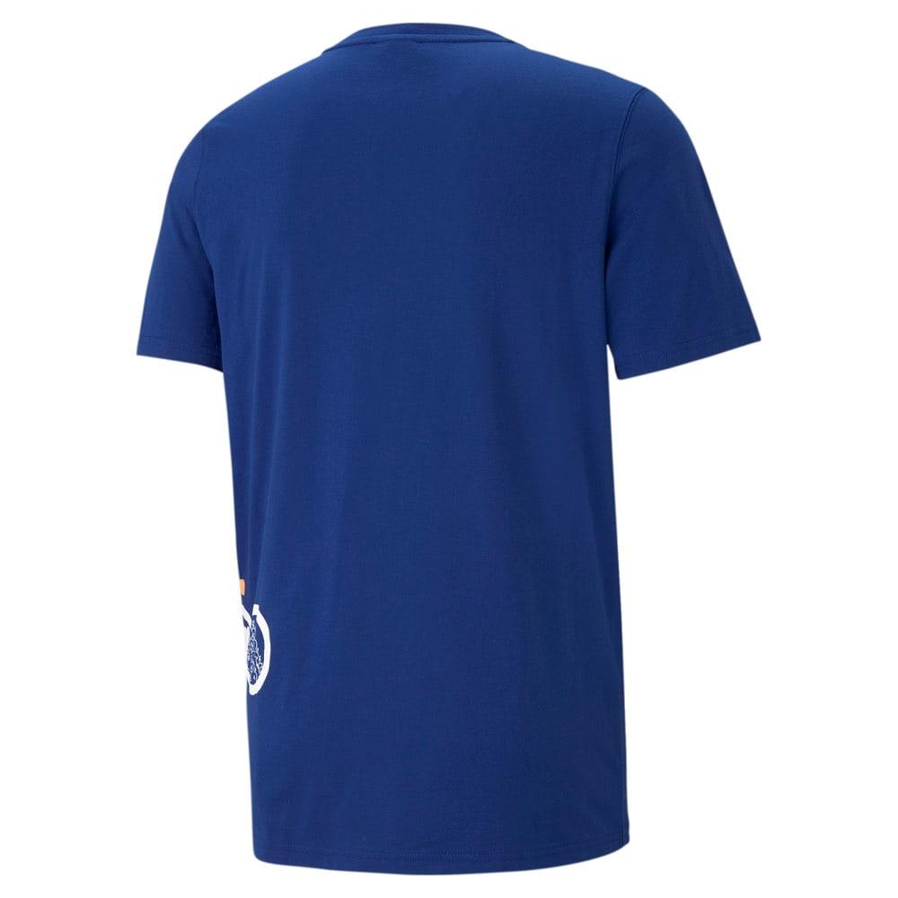 Görüntü Puma FRANCHISE SIDE Seam Erkek Basketbol T-shirt #2
