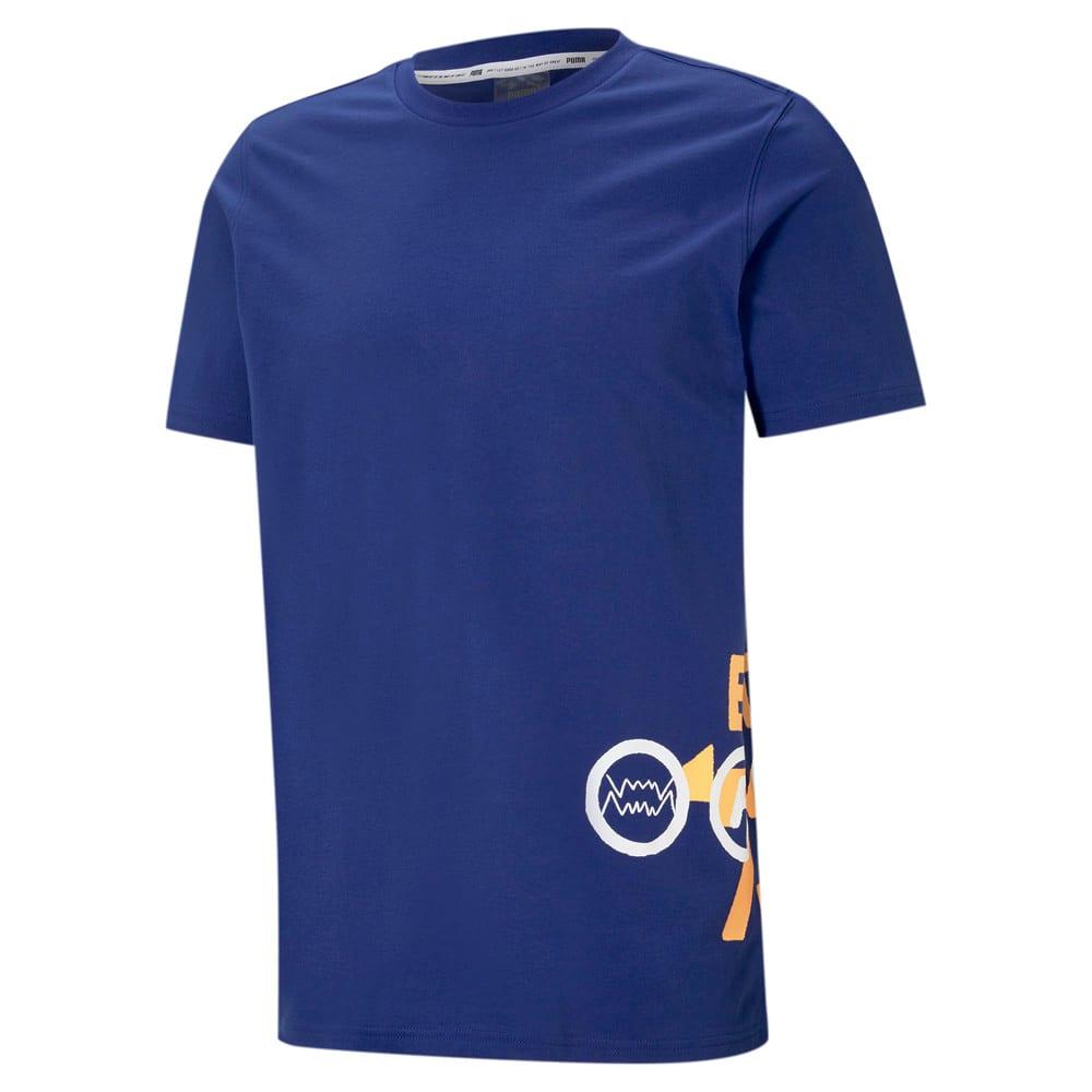 Görüntü Puma FRANCHISE SIDE Seam Erkek Basketbol T-shirt #1