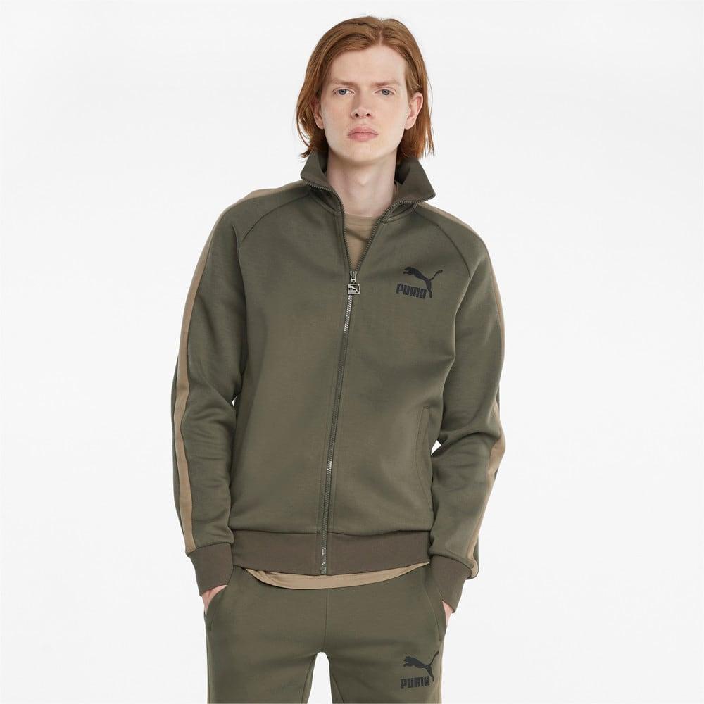 Изображение Puma Олимпийка Iconic T7 Double Knit Men's Track Jacket #1