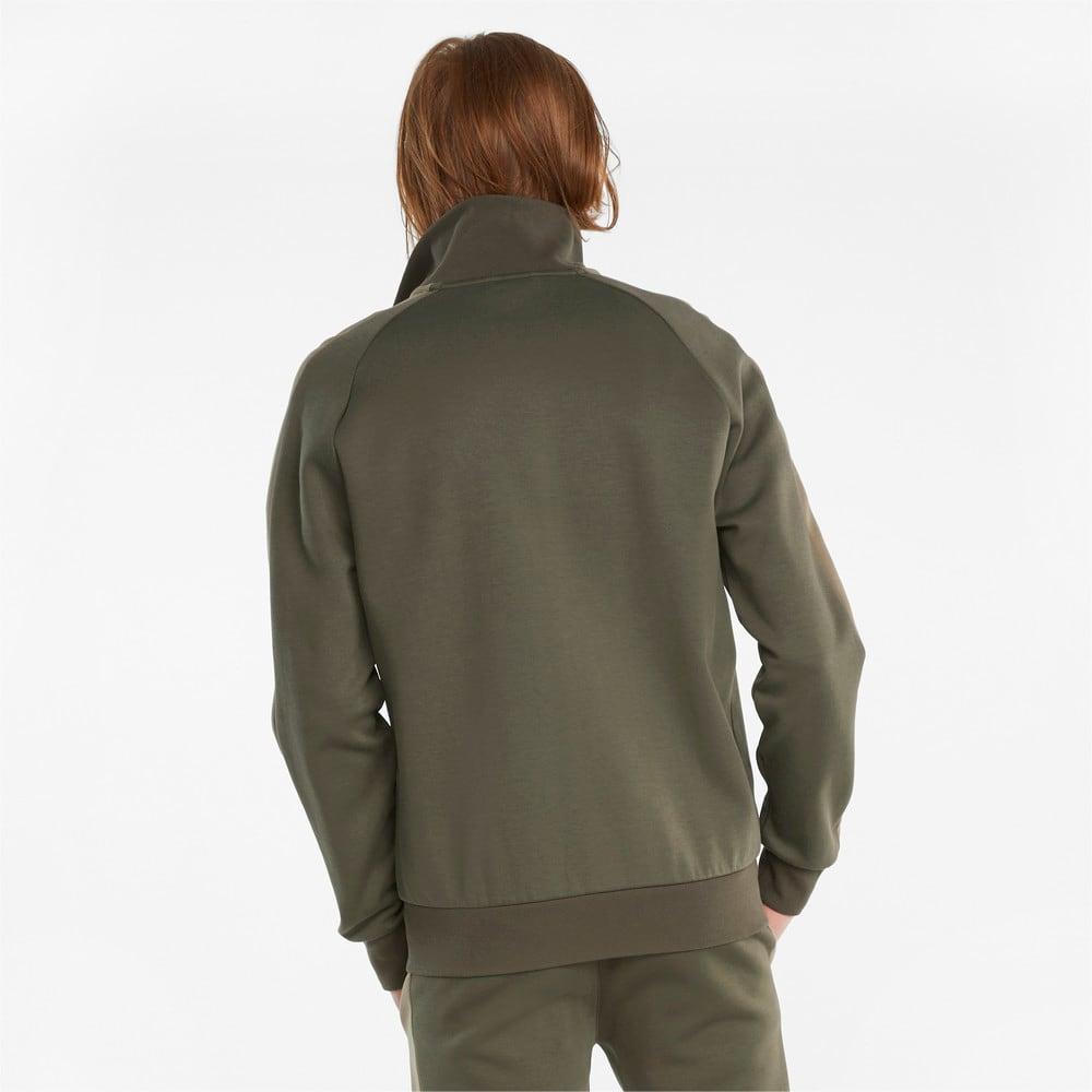 Изображение Puma Олимпийка Iconic T7 Double Knit Men's Track Jacket #2: Grape Leaf