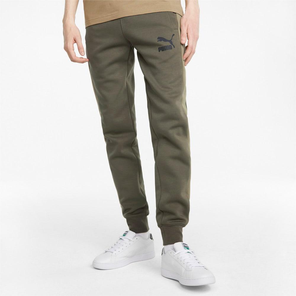 Изображение Puma Штаны Iconic T7 Double Knit Men's Track Pants #1: Grape Leaf