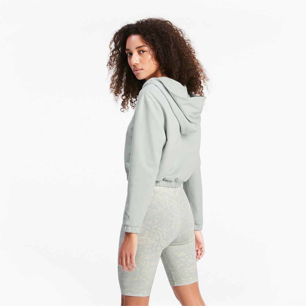 Görüntü Puma PUMA Kısa Kesim Kadın Kapüşonlu Sweatshirt #2